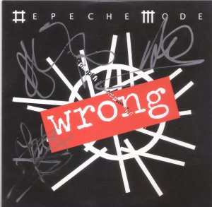 WRONG Promo autographed by DM